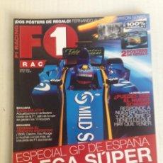 Revistas: REVISTA F1 RACING FERNANDO ALONSO. Lote 109343371