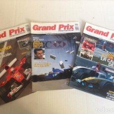 Revistas: 3 REVISTAS GRAND PRIX. Lote 109344271