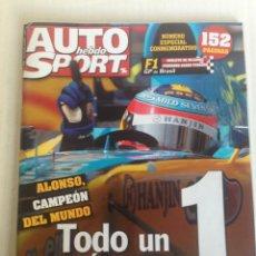 Revistas: REVISTA AUTO SPORT FERNANDO ALONSO. Lote 109344479
