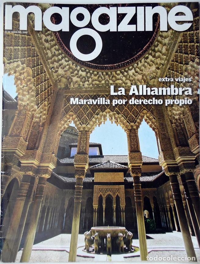 REVISTA MAGAZINE LA ALHAMBRA DE GRANADA MARAVILLA POR DERECHO PROPIO 2008 (Coleccionismo para Adultos - Revistas)