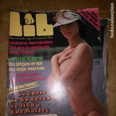 Revistas: REVISTA EROTICA LIB - AZUCENA HERNANDEZ - ESPECIAL NUDISMO .... POSTER CENTRAL LEER . Lote 111633563