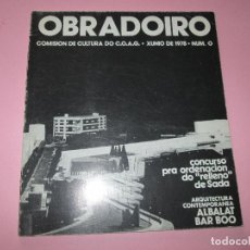 Revistas: REVISTA-OBRADOIRO-COMISIÓN DE CULTURA DO C.O.A.G.-1978-Nº0-VER FOTOS. Lote 113166127