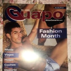Revistas: REVISTA GUAPO GRAN CANARIA.COM - ABRIL 2009 - TENDENCIA GAY. Lote 116285623