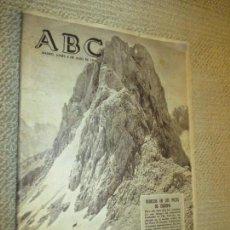 Revistas: ABC 6/JULIO/1964. PORTADA REBECOS EN LOS PICOS DE EUROPA, ASTURIAS, CANTABRIA, FOTO BUSTAMANTE POTES. Lote 116919587