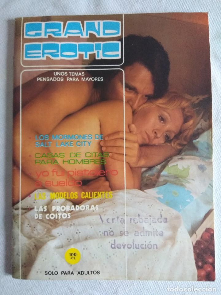 REVISTA EROTICA GRAND EROTIC. (Coleccionismo para Adultos - Revistas)