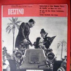 Revistas: REVISTA DESTINO Nº 1227 - 11 FEBRERO DE 1961 . Lote 119914671