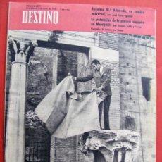 Revistas: REVISTA DESTINO Nº 1247 - 1 DE JULIO DE 1961. Lote 120356611