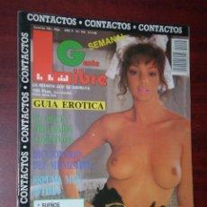 Revistas: REVISTA - GENTE LIBRE - CONTACTOS - Nº 155 - AÑO 1989. Lote 120403223