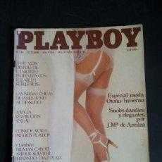 Revistas: REVISTA PLAYBOY NÚMERO 36, AÑO 1981. INCLUYE POSTER CENTRAL. Lote 120839727