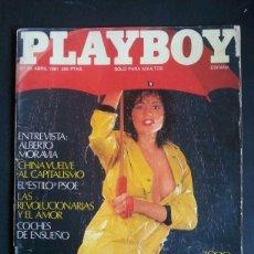 Revistas: REVISTA PLAYBOY NÚMERO 30, AÑO 1981. INCLUYE POSTER CENTRAL. Lote 120840199