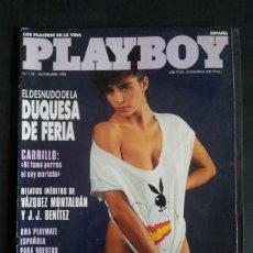 Revistas: REVISTA PLAYBOY NÚMERO 119, AÑO 1988. INCLUYE POSTER CENTRAL. Lote 120841007