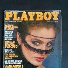 Revistas: REVISTA PLAYBOY NÚMERO 74 AÑO 1985 INCLUYE POSTER CENTRAL. Lote 120841223