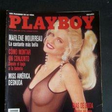 Revistas: REVISTA PLAYBOY NÚMERO 161 AÑO 1992 MARLENE MOURREAU. INCLUYE POSTER CENTRAL. Lote 120841707