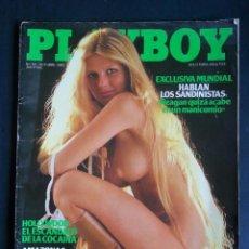 Revistas: REVISTA PLAYBOY NÚMERO 58 AÑO 1983 INCLUYE POSTER CENTRAL. Lote 120843035