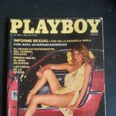 Revistas: REVISTA PLAYBOY NÚMERO 18 AÑO 1980 INCLUYE POSTER CENTRAL. Lote 120843131