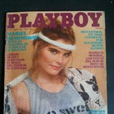 Revistas: REVISTA PLAYBOY NÚMERO 42 AÑO 1982 INCLUYE POSTER CENTRAL. Lote 120843211