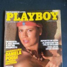 Revistas: REVISTA PLAYBOY NÚMERO 78 AÑO 1985 INCLUYE POSTER CENTRAL. Lote 120843343