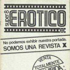 Revistas: REVISTA SUPER 8 EROTICO NUMERO 2. Lote 121060907