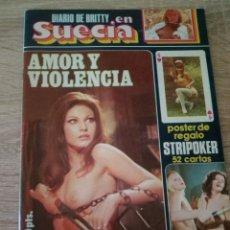 Revistas: DIARIO DE BRITTY EN SUECIA - 1977. Lote 121486943