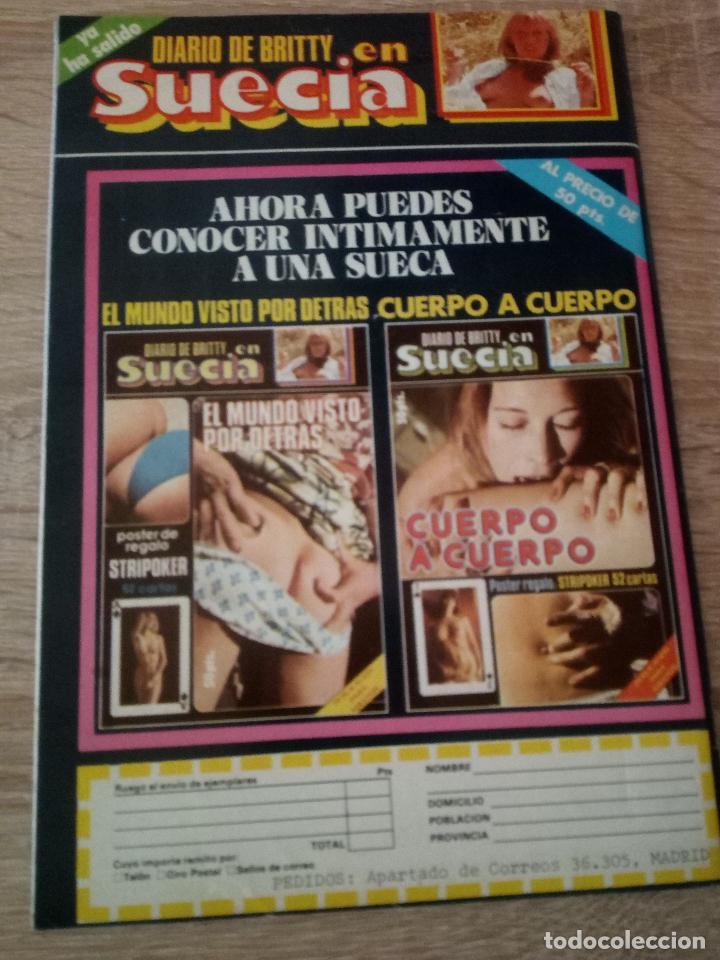 Revistas: DIARIO DE BRITTY EN SUECIA - 1977 - Foto 2 - 121486943