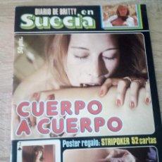 Revistas: DIARIO DE BRITTY EN SUECIA - 1977. Lote 121487047