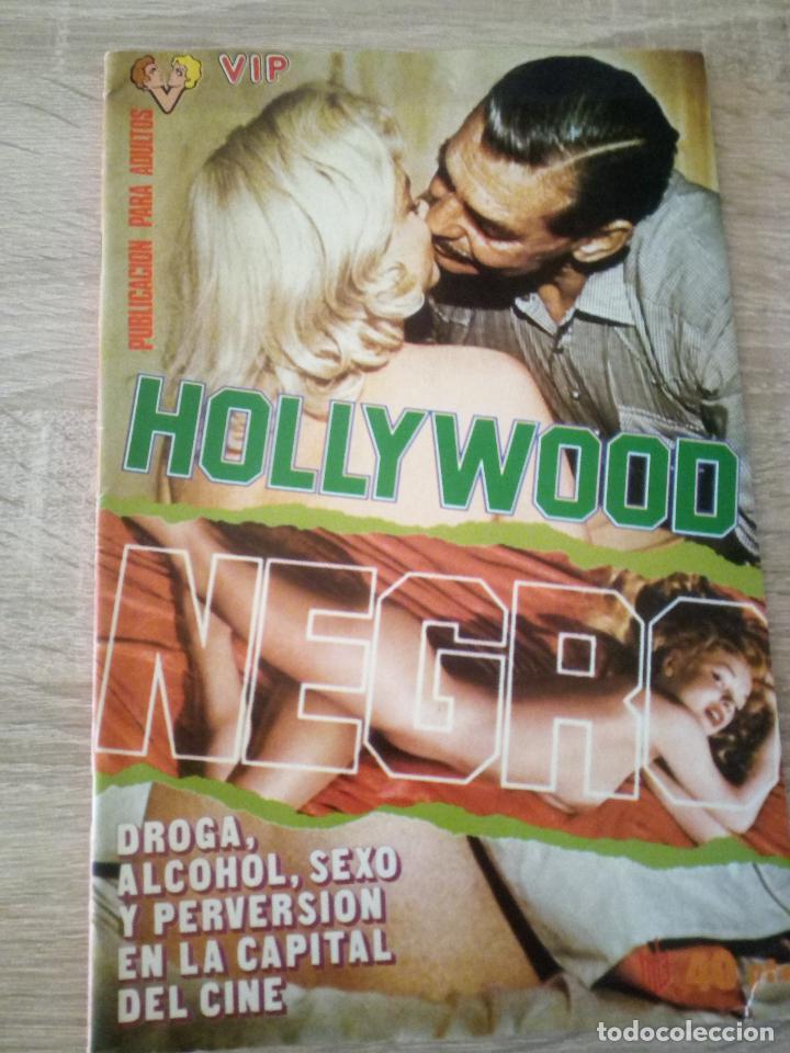 HOLLYWOOD NEGRO - 1977 (Coleccionismo para Adultos - Revistas)