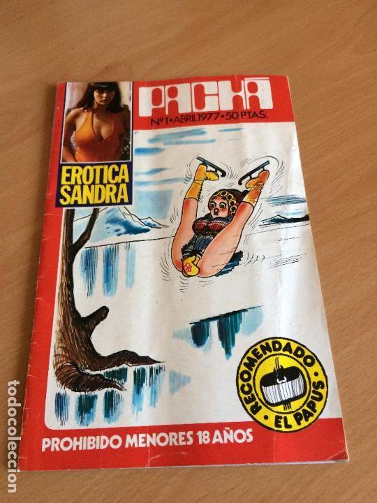 REVISTA PACHA Nº 1 1977 (Coleccionismo para Adultos - Revistas)