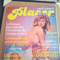Revistas: REVISTA PLACER N°2 ADULTOS. Lote 122892063