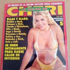 Revistas: REVISTA LO MEJOR DE CHERI N° 5 ADULTOS. Lote 125829191