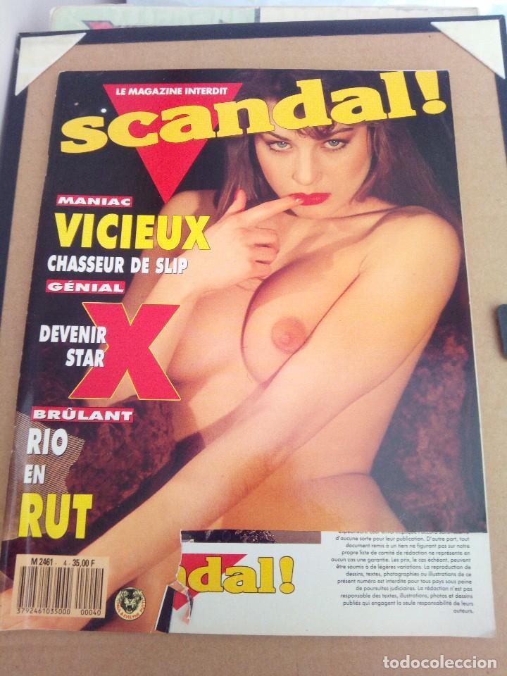 REVISTA SCANDAL N° 4 ADULTOS (Coleccionismo para Adultos - Revistas)