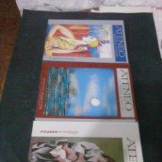 Revistas: REVISTA ATENEO AÑOS 2000. Lote 126094231