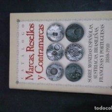 Revistas: LIBRO DE CATALOGO MARCAS RESELLOS Y CONTRAMARCAS ETC . Lote 126095831