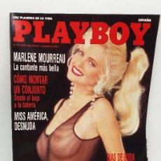 Revistas: PLAYBOY AÑO 1992 NUEVA, NO HOJEADA. N 161 MAYO, MARLENE MOURREAU, MISS AMERICA. Lote 128154467