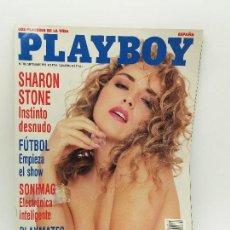 Revistas: PLAYBOY AÑO 1992 NUEVA, NO HOJEADA. N 154 AGOSTO, SAM DORMAN, 12 CHICAS BOND, INDURAIN. Lote 128154655