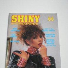 Magazines: SHINE INTERNATIONAL -NO.66 -REVISTA UK 1990S// DOMINACION DOMINANCE FETISH S/M D/S BDSM SADO EROTICA. Lote 129024019