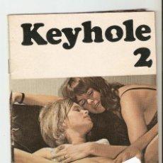 Revistas: KEYHOLE Nº 2 - REVISTA PORNO DANESA - AÑOS 70?- SOLO FOTOS - 21X14,7 CM. Lote 130934316