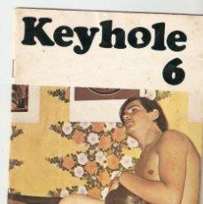 Revistas: KEYHOLE Nº 6 - REVISTA PORNO DANESA - AÑOS 70?- SOLO FOTOS - 21X14,7 CM. Lote 130934500