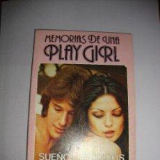 Revistas: (TC-131) REVISTA NOVELA EROTICA MEMORIAS DE UNA PLAY GIRL Nº 1. Lote 132256434