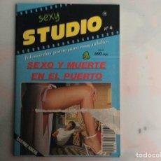 Revistas: SEXY STUDIO Nº 4 , REVISTA EROTICA DE LOS AÑOS 80. Lote 133844862