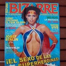 Revistas: REVISTA BIZARRE Nº 5 /LA REVISTA MAS EXTREMA DEL MUNDO / MAMIE VAN DOREN, SADOMASOQUISMO, SANDRA UVE. Lote 134753002