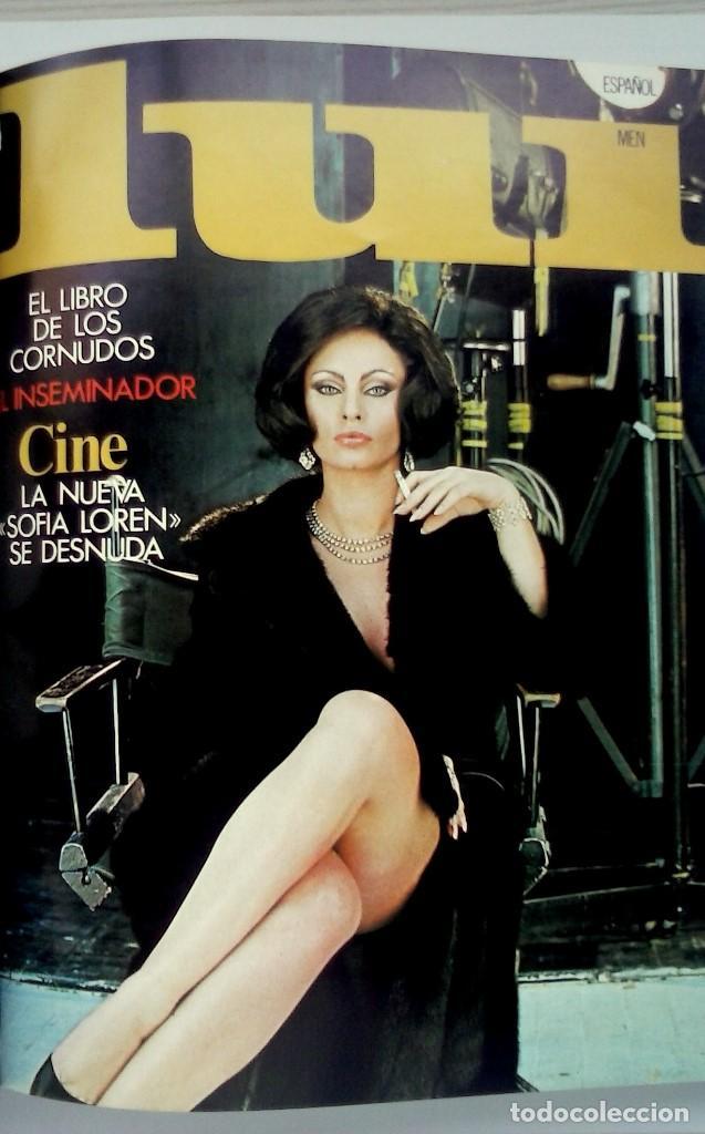Revistas: REVISTAS LUI - TOMO CON 6 EJEMPLARES ENCUADERNADOS - NÚMEROS 1 AL 6 - AÑO 1977 - TAPA DURA - Foto 3 - 135460846