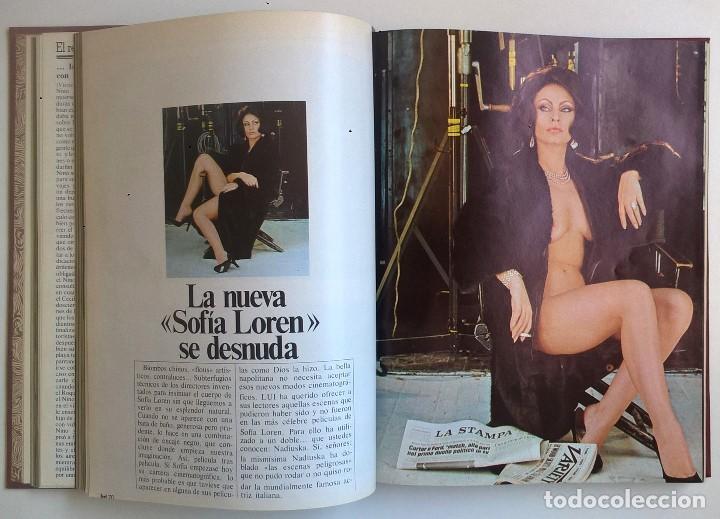 Revistas: REVISTAS LUI - TOMO CON 6 EJEMPLARES ENCUADERNADOS - NÚMEROS 1 AL 6 - AÑO 1977 - TAPA DURA - Foto 5 - 135460846