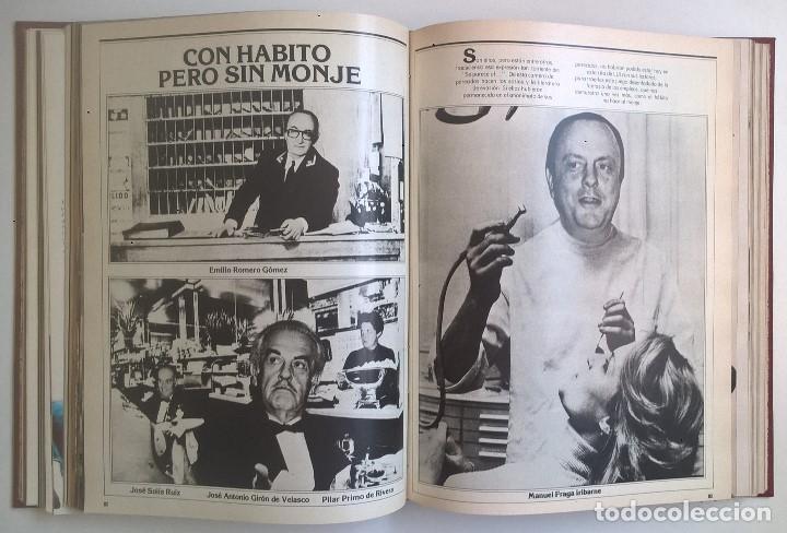 Revistas: REVISTAS LUI - TOMO CON 6 EJEMPLARES ENCUADERNADOS - NÚMEROS 1 AL 6 - AÑO 1977 - TAPA DURA - Foto 8 - 135460846