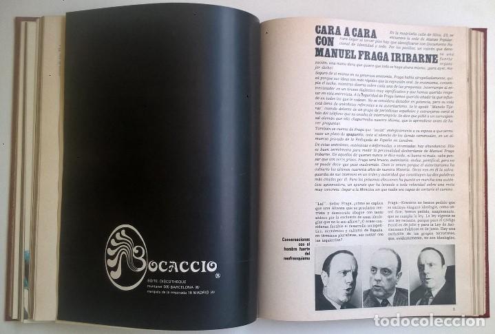 Revistas: REVISTAS LUI - TOMO CON 6 EJEMPLARES ENCUADERNADOS - NÚMEROS 1 AL 6 - AÑO 1977 - TAPA DURA - Foto 11 - 135460846