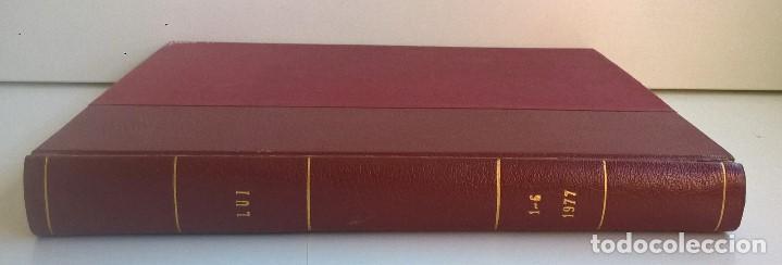 Revistas: REVISTAS LUI - TOMO CON 6 EJEMPLARES ENCUADERNADOS - NÚMEROS 1 AL 6 - AÑO 1977 - TAPA DURA - Foto 17 - 135460846