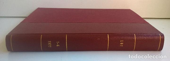 Revistas: REVISTAS LUI - TOMO CON 6 EJEMPLARES ENCUADERNADOS - NÚMEROS 1 AL 6 - AÑO 1977 - TAPA DURA - Foto 18 - 135460846