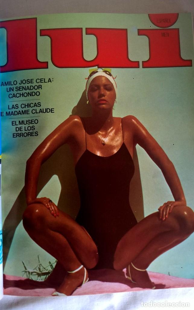 Revistas: ANTIGUA REVISTA ERÓTICA LUI - TOMO CON SEIS EJEMPLARES ENCUADERNADOS ( Nº 7 AL 12 ) - AÑO 1977 - Foto 5 - 135462170