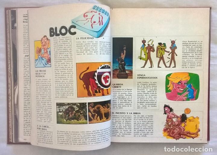 Revistas: ANTIGUA REVISTA ERÓTICA LUI - TOMO CON SEIS EJEMPLARES ENCUADERNADOS ( Nº 7 AL 12 ) - AÑO 1977 - Foto 8 - 135462170