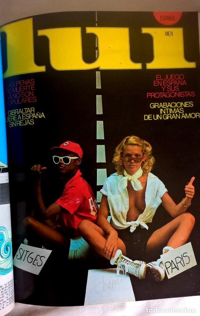 Revistas: ANTIGUA REVISTA ERÓTICA LUI - TOMO CON SEIS EJEMPLARES ENCUADERNADOS ( Nº 7 AL 12 ) - AÑO 1977 - Foto 12 - 135462170