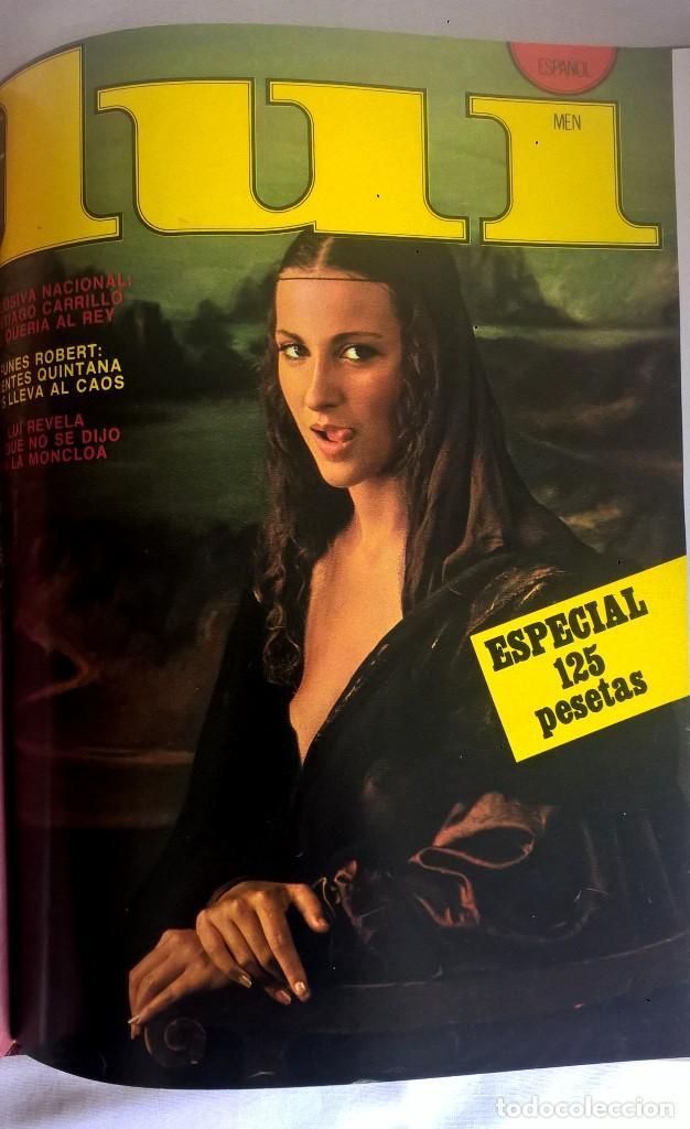 Revistas: ANTIGUA REVISTA ERÓTICA LUI - TOMO CON SEIS EJEMPLARES ENCUADERNADOS ( Nº 7 AL 12 ) - AÑO 1977 - Foto 14 - 135462170